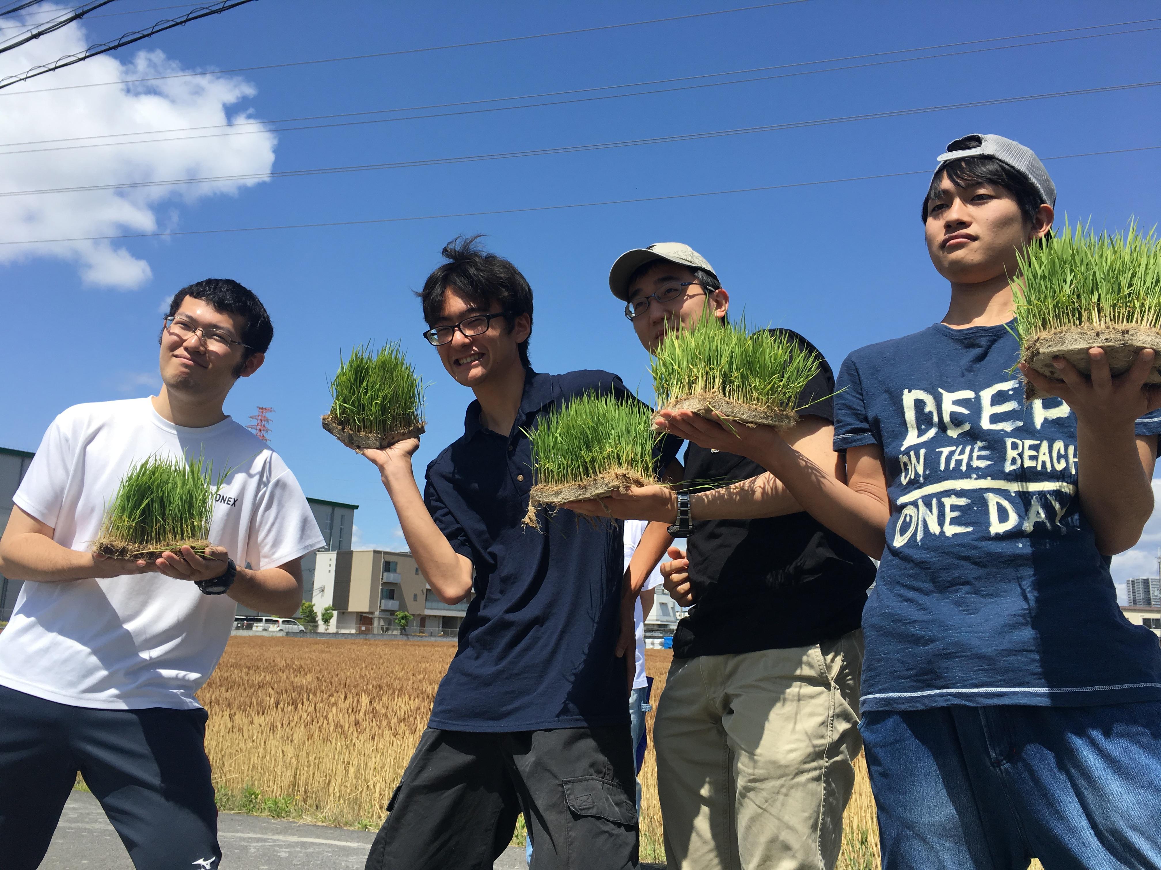 滋賀・榮農場の田植え体験!