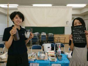 親子料理教室の夏祭りイベントに参加しました!