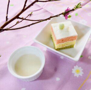 【リラックス食堂仙台】桃の節句デザートイベント開催★ひな祭りケーキ&麹甘酒