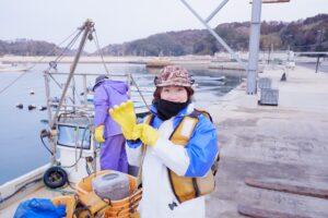 宮戸島産生わかめイベント開催&冬の太平洋でのワカメ漁体験レポート
